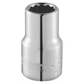 "E113740 - 1/4"" 12-point socket, inch 3/16"" mm"