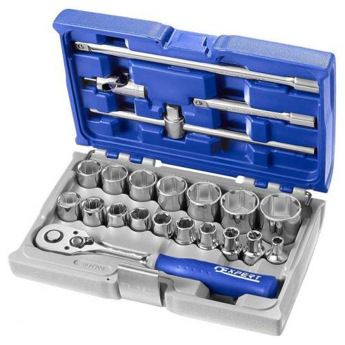 "E032900 - 1/2"" Socket and accessory set 8 - 32 mm"