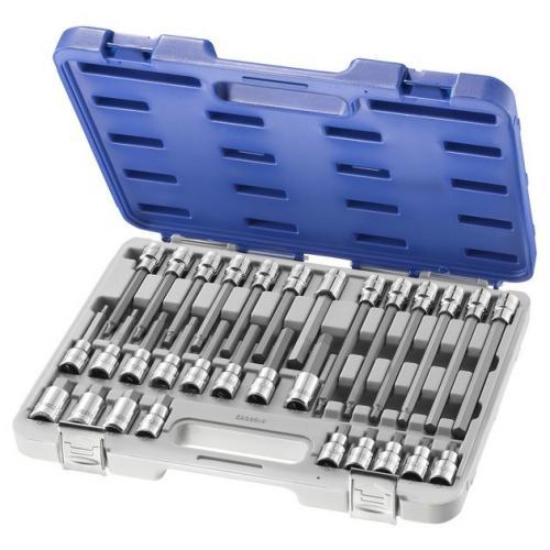 """E200516 - 1/2"""" Socket set, 5 - 19 mm"""