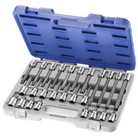 """E200515 - 1/2"""" XZN® Socket set, T20 - T70"""