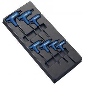 """E121708 - Module of 7 Torx® keys, handle """"T"""", T10 - T40"""