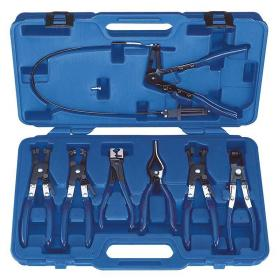 E200501 - Set of 7 pliers for self-tightening clamp pliers